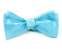 BOW TIES - OVATION SOLID - TURQUOISE