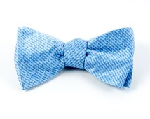 BOW TIES - OVATION SOLID - LIGHT BLUE