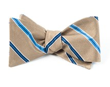 Bow Ties - Vocal Stripe - Tan
