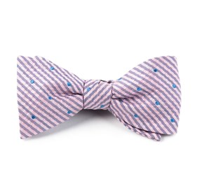 Baby Pink French Kiss bow ties