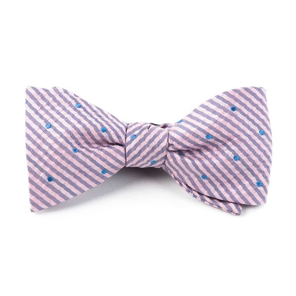 Baby Pink French Kiss Bow Tie
