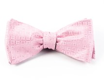 Bow Ties - COVERT CHECKS - BABY PINK