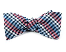 Bow Ties - DAYDREAM PLAID - Red