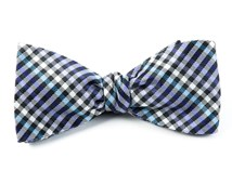 Bow Ties - DAYDREAM PLAID - PURPLE