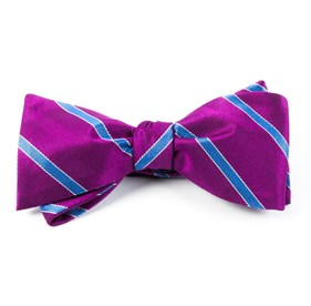 Pipe Dream Stripe Azalea Bow Ties