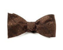 Bow Ties - Interlaced - Brown