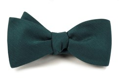 Bow Ties - ASTUTE SOLID - GREEN TEAL