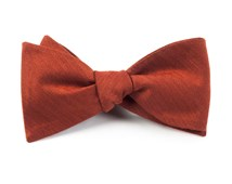 BOW TIES - ASTUTE SOLID - ORANGE