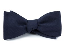 BOW TIES - ASTUTE SOLID - NAVY