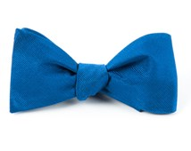 BOW TIES - GROSGRAIN SOLID - CLASSIC BLUE