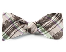 Bow Ties - BAND OF PLAID - BROWN