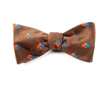 Bow Ties - GAME ON - CHOCOLATE BROWN