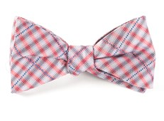 Bow Ties - PARKER PLAID - RED