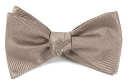 Grosgrain Solid - Champagne - Self-Tie - Regular - Bow Ties