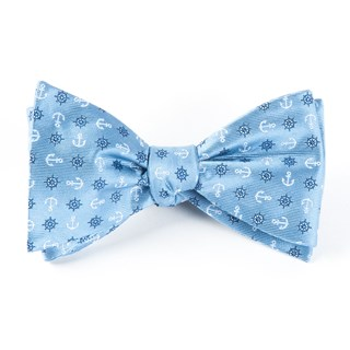 Offshore Light Blue Bow Tie