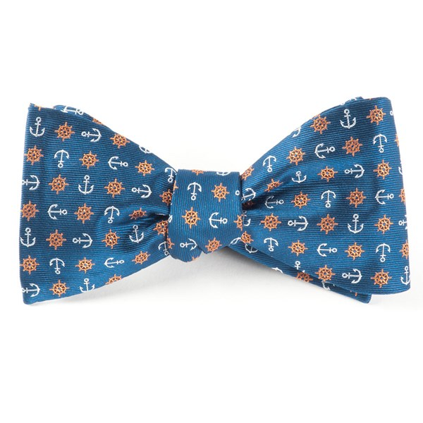 Serene Blue Offshore Bow Tie