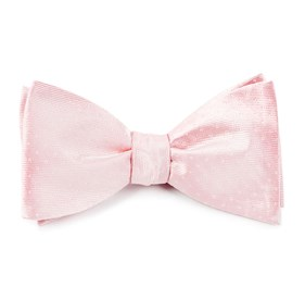 Blush Pink Mini Dots bow ties