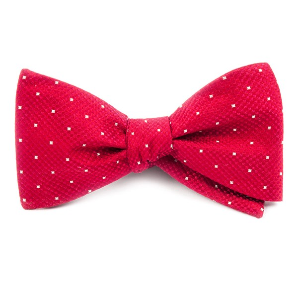 Red Showtime Geo Bow Tie