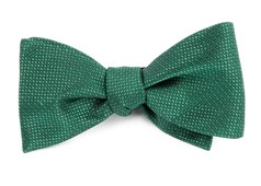 BOW TIES - SIDELINE SOLID - EMERALD GREEN
