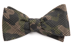 Bow Ties - Caliber Camo - Moss Green