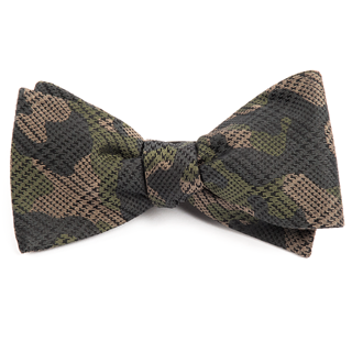caliber camo moss green bow ties