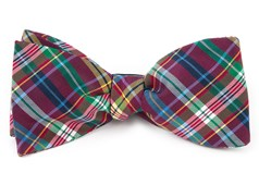 Bow Ties - Corrigan Plaid - Red