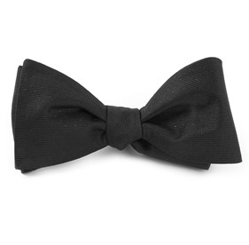 Black Flicker bow ties