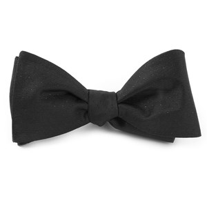 flicker black bow ties