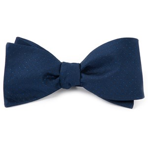 flicker navy bow ties