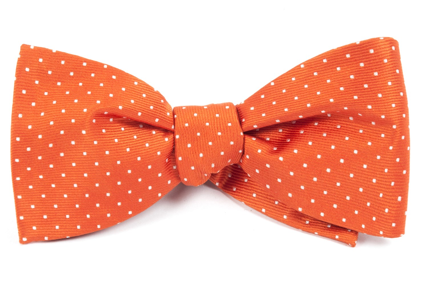 mini dots bow ties orange ties bow ties and pocket