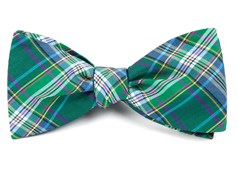 Bow Ties - Paramount Plaid - Green