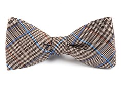 Bow Ties - Professor Plaid - Brown