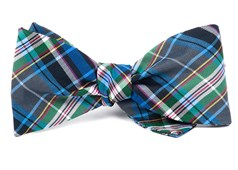 Bow Ties - West Village Plaid - Grey