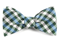 Bow Ties - Polo Plaid - Green