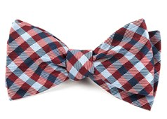 Bow Ties - Polo Plaid - Red