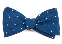 Bow Ties - Ringside Dots - Classic Blue