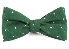 Bow Ties - Ringside Dots - Grass Green