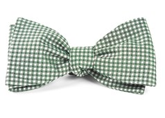 Bow Ties - Bahama Checks - Hunter Green