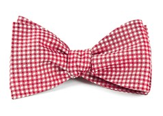 Bow Ties - Bahama Checks - Red