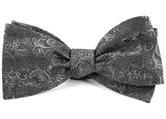 Bow Ties - Ceremony Paisley - Charcoal