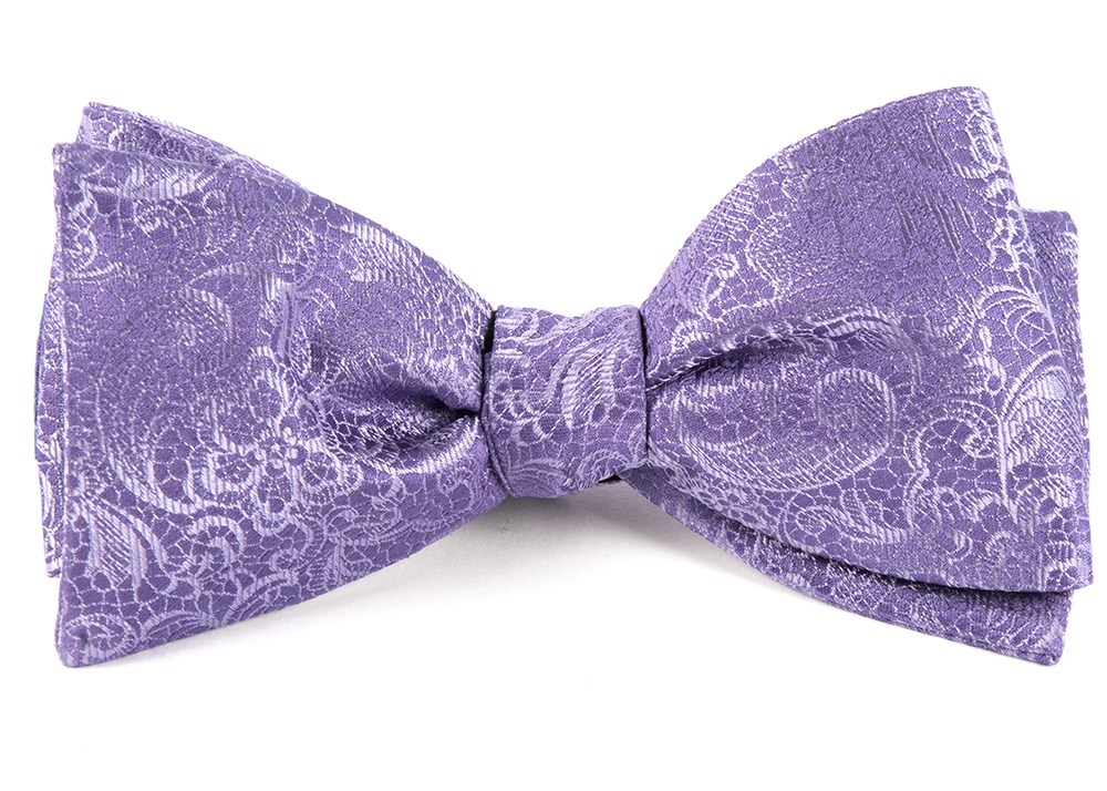 Lilac Ceremony Paisley Bow Tie Men S Bow Ties The Tie Bar