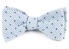 Bow Ties - Down The Aisle Dots - Classic Blue