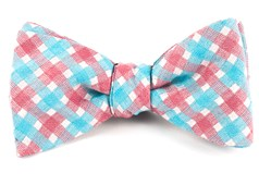 Bow Ties - Plaid Bliss - Red