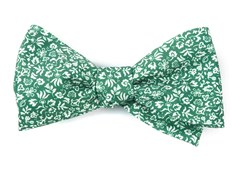 Bow Ties - Habitat Bloom - Clover Green
