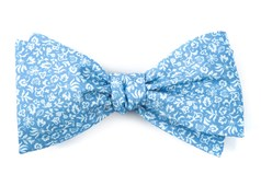 Bow Ties - Habitat Bloom - Light Blue