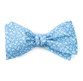 Light Blue Habitat Bloom bow ties