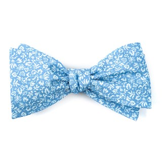 habitat bloom light blue bow ties
