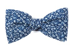 Bow Ties - Habitat Bloom - Navy