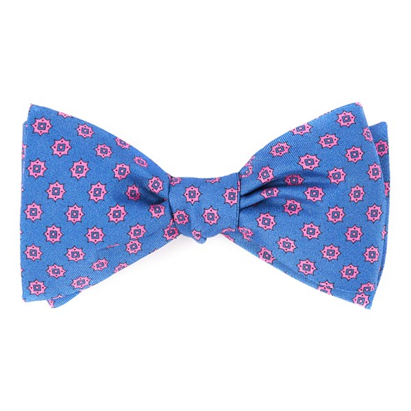 Serene Blue Major Star Bow Tie