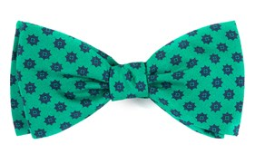 Bow Ties - Major Star - Emerald Green
